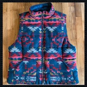 American Eagle Outfitters Pendleton/Southwest vest